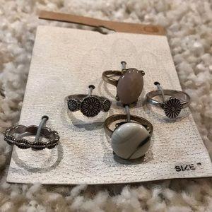 5 rings